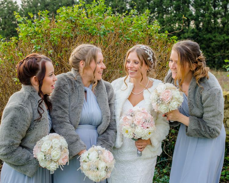 Bridesmaids Hellaby Hall wedding photographers Rotherham