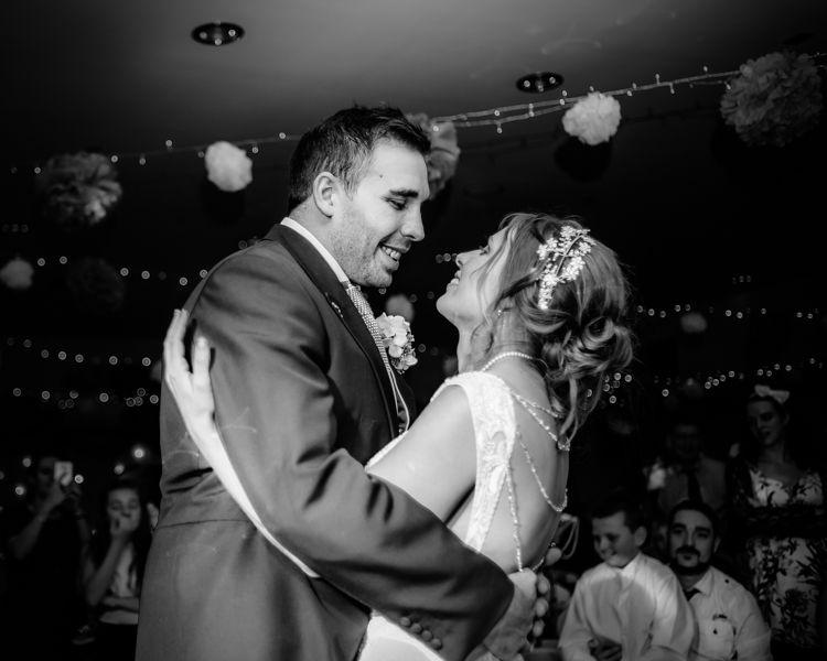 First dance, Hellaby Hall wedding photographers Rotherham