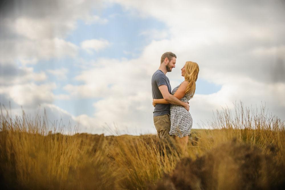 Long grass. pre-wedding, Sheffield photographers