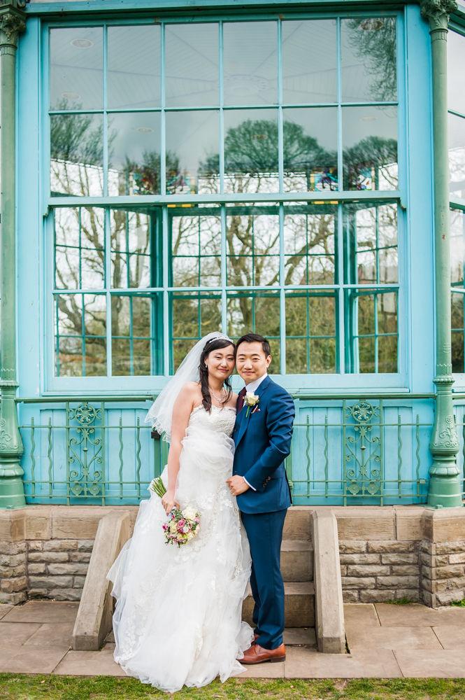 Weston Park Bandstand, Sheffield wedding photographer, Chinese wedding