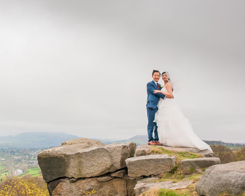 Surprise View wedding, Peak District, Sheffield wedding photographer, Chinese wedding