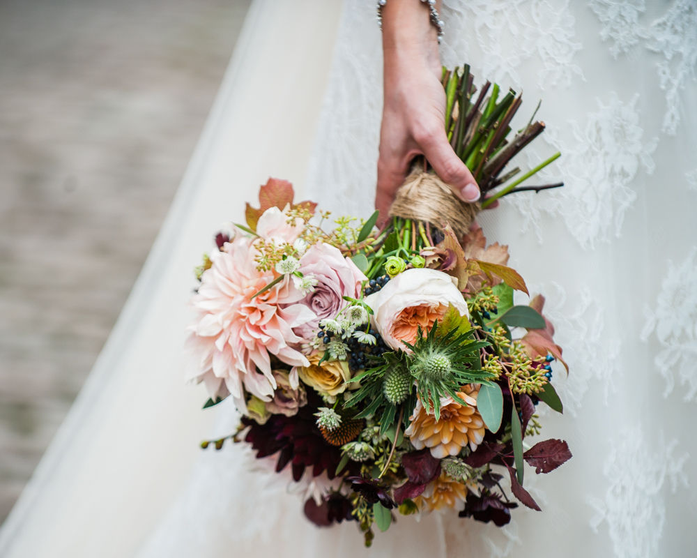 Brides bouquet, Kelham Island wedding, Sheffield photographers