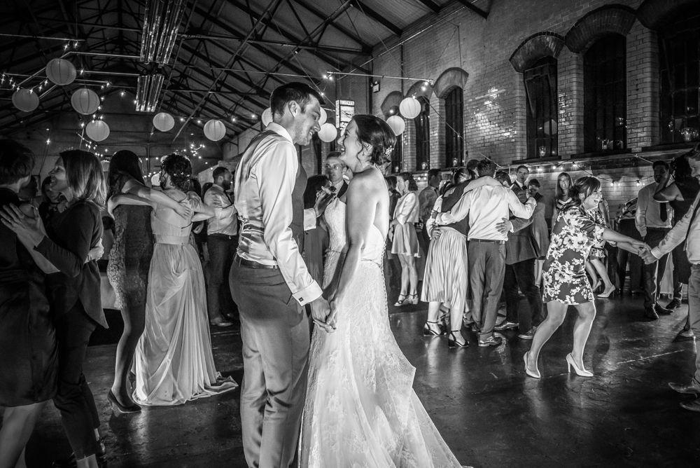 First dance, Kelham Island wedding, Sheffield photographers