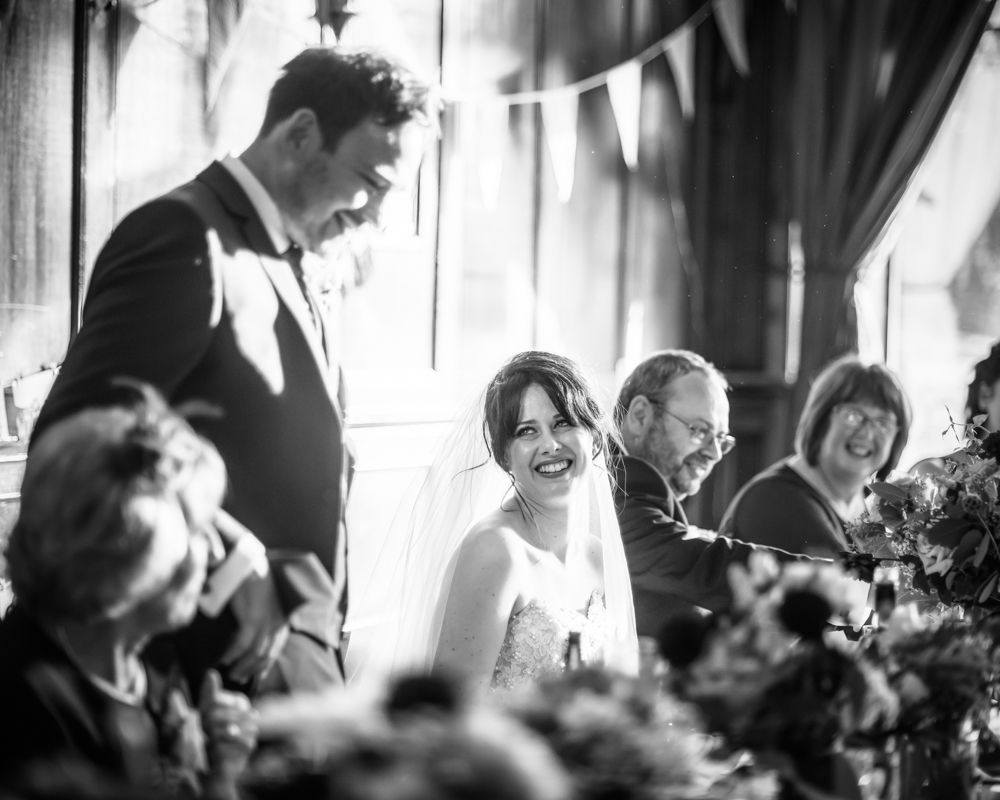 Grooms speech, Maynard Arms wedding, Sheffield photographers