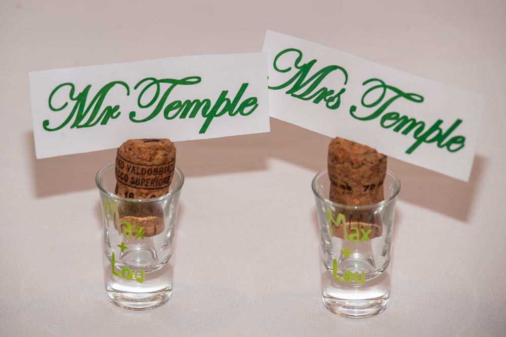 Sheffield wedding photographers, bride and groom shot glasses