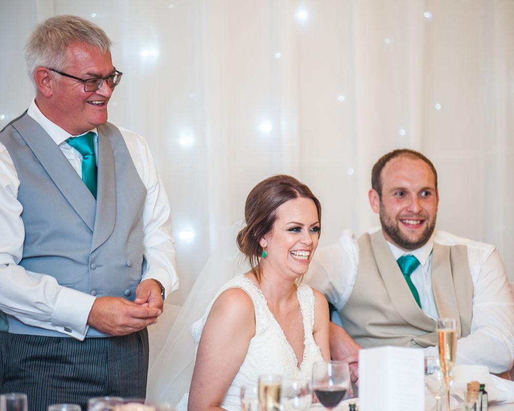 Sheffield wedding photographers, Tankersley Manor - speeches