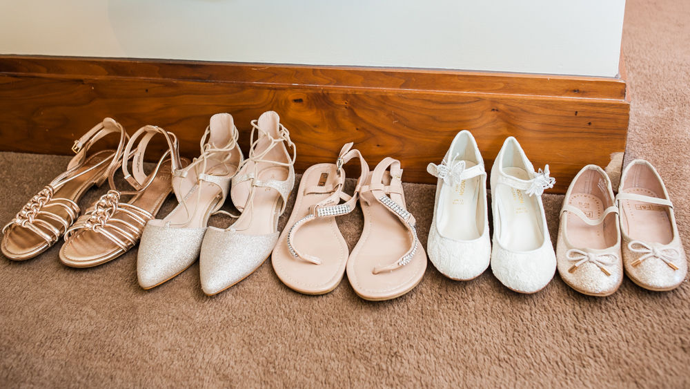 Wedding shoes, Chesterfield wedding photographer, Casa Hotel