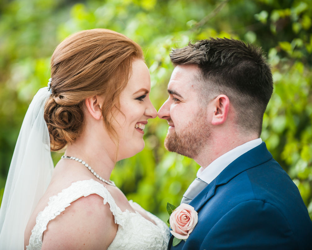 Laughing bride and groom, Chesterfield wedding photographer, Casa Hotel