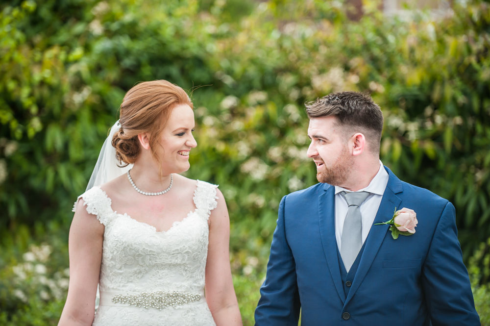 Walking in grounds, Chesterfield wedding photographer, Casa Hotel