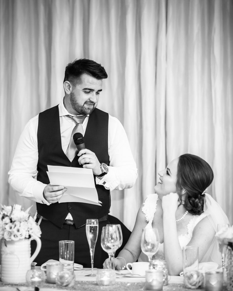 Groom's speech, Chesterfield wedding photographer, Casa Hotel