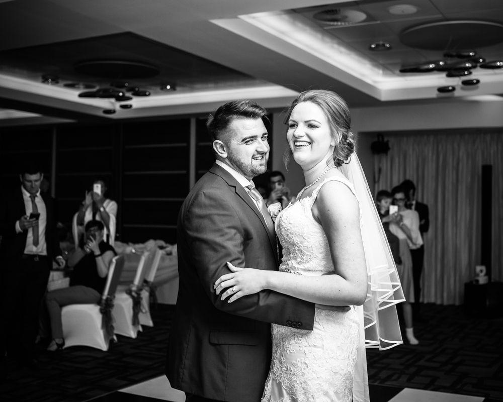 First dance, Chesterfield wedding photographer, Casa Hotel
