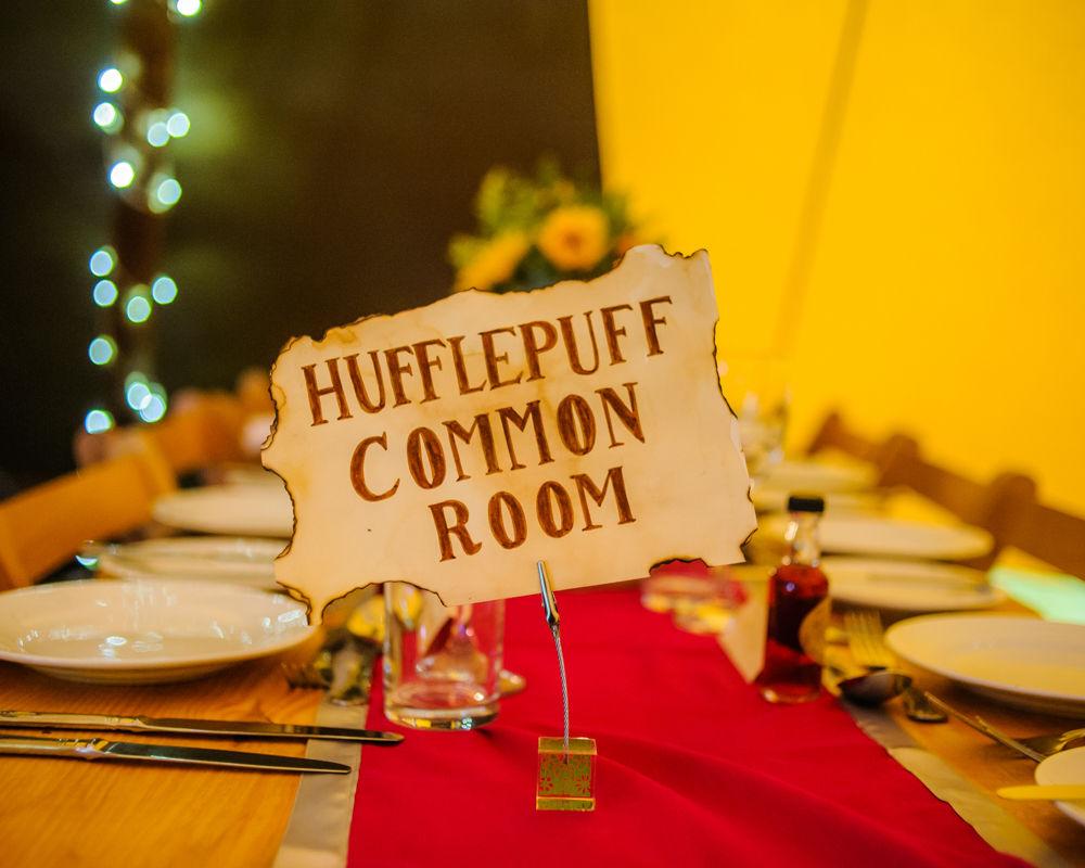 Table names, Sheffield wedding photographers, Smallshaw Farm Cottages