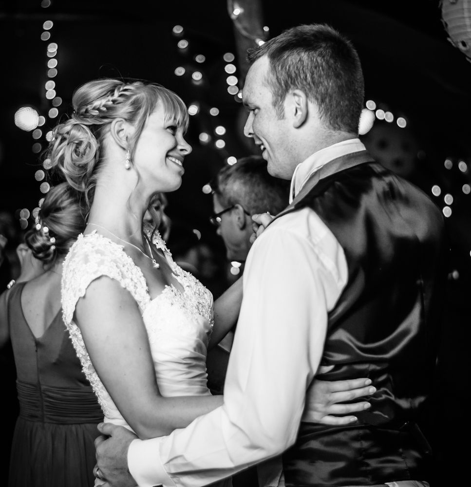 First wedding dance, Sheffield wedding photographers, Smallshaw Farm Cottages