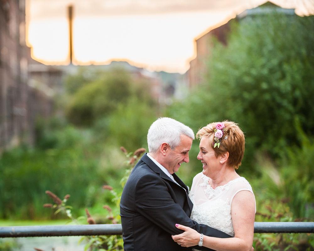 Sunset, Chimney House, Sheffield wedding photographers