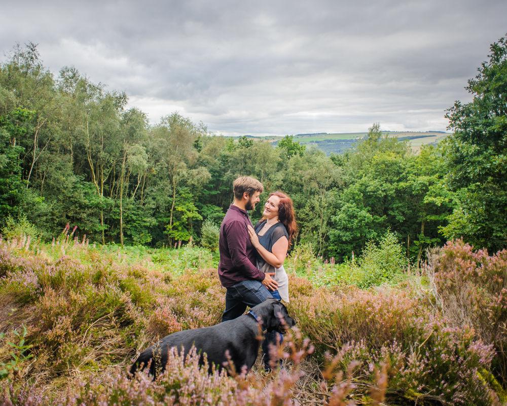 Greno woods, Sheffield wedding photographers