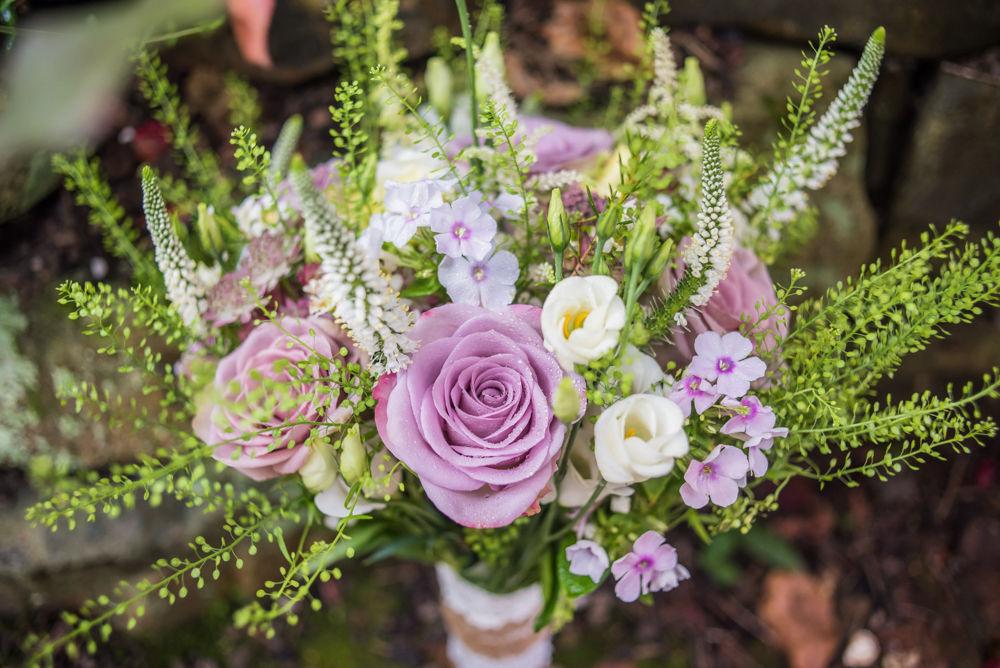 Bride's bouquet, Sheffield wedding photographers