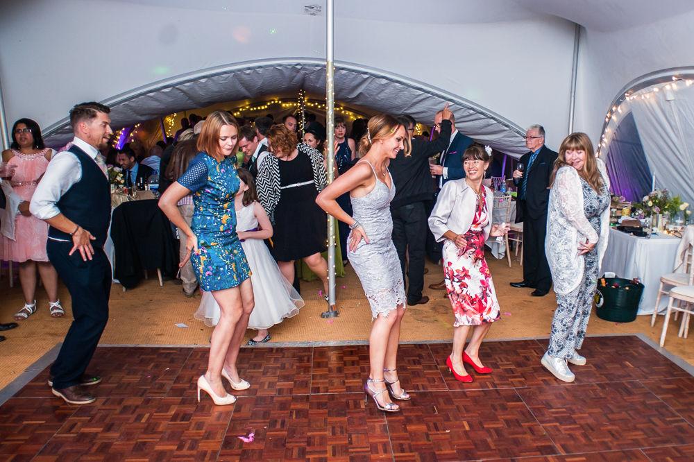 dance moves, Sheffield wedding photographers