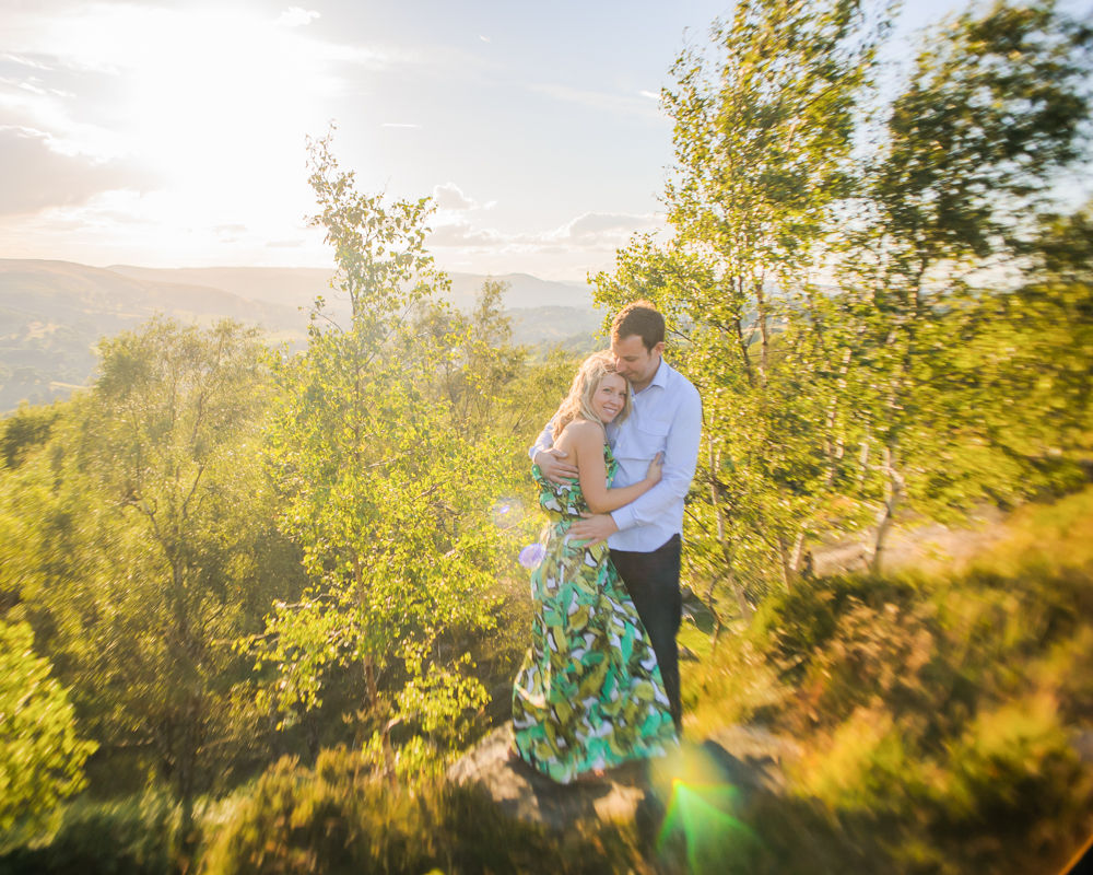 Cuddles in wilderness, elopement portraits