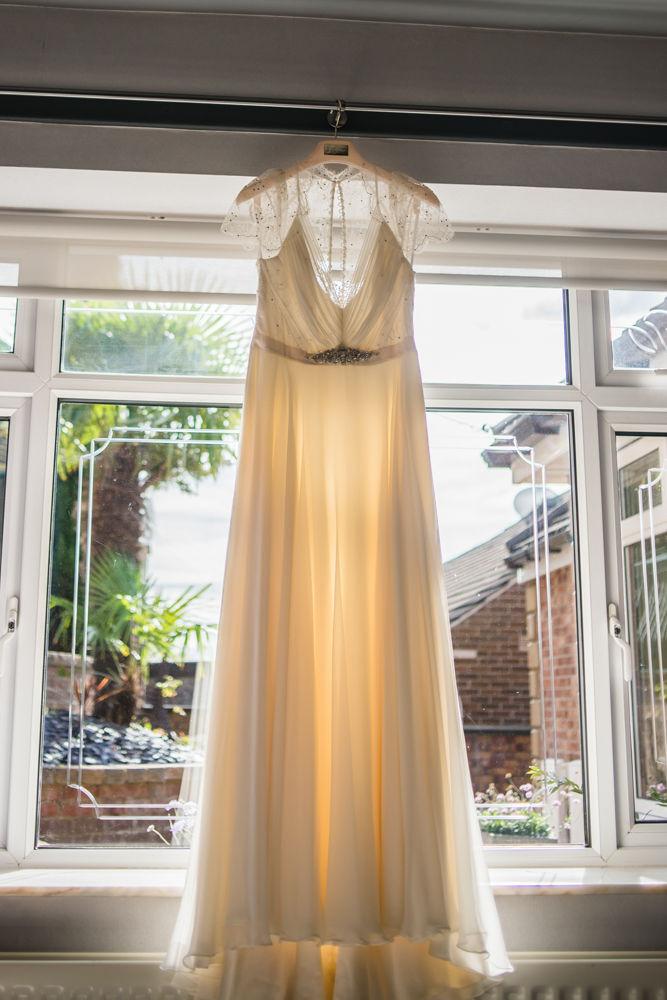 Jenny Packham dress,  Wentworth Castle Garden wedding, Sheffield photographers