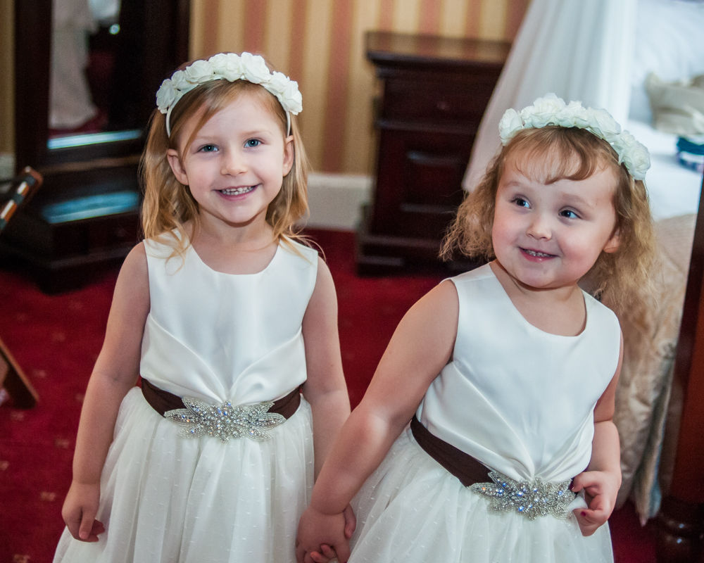 Flowergirls, Wortley Hall wedding, Sheffield wedding photographers