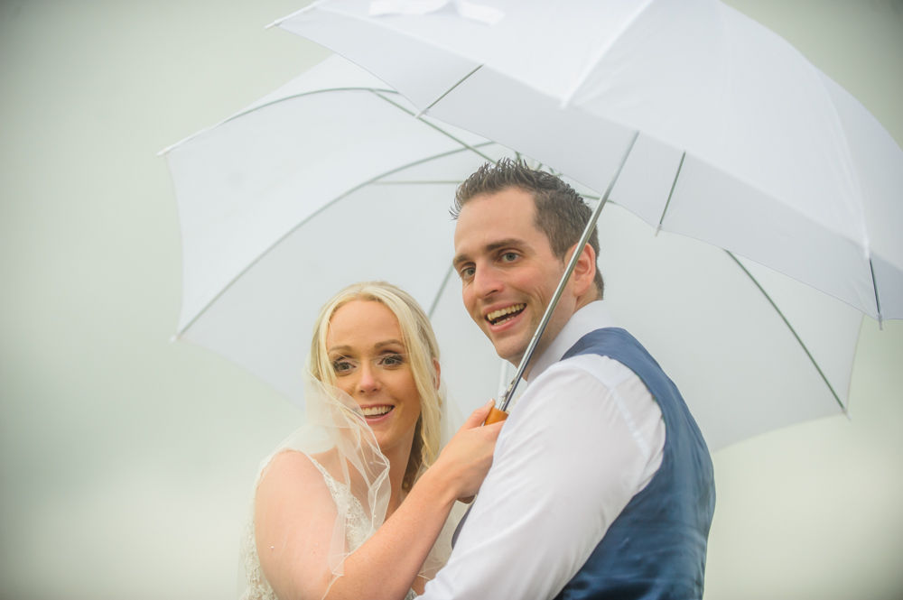 Wedding umbrellas, Maynard wedding photography Sheffield