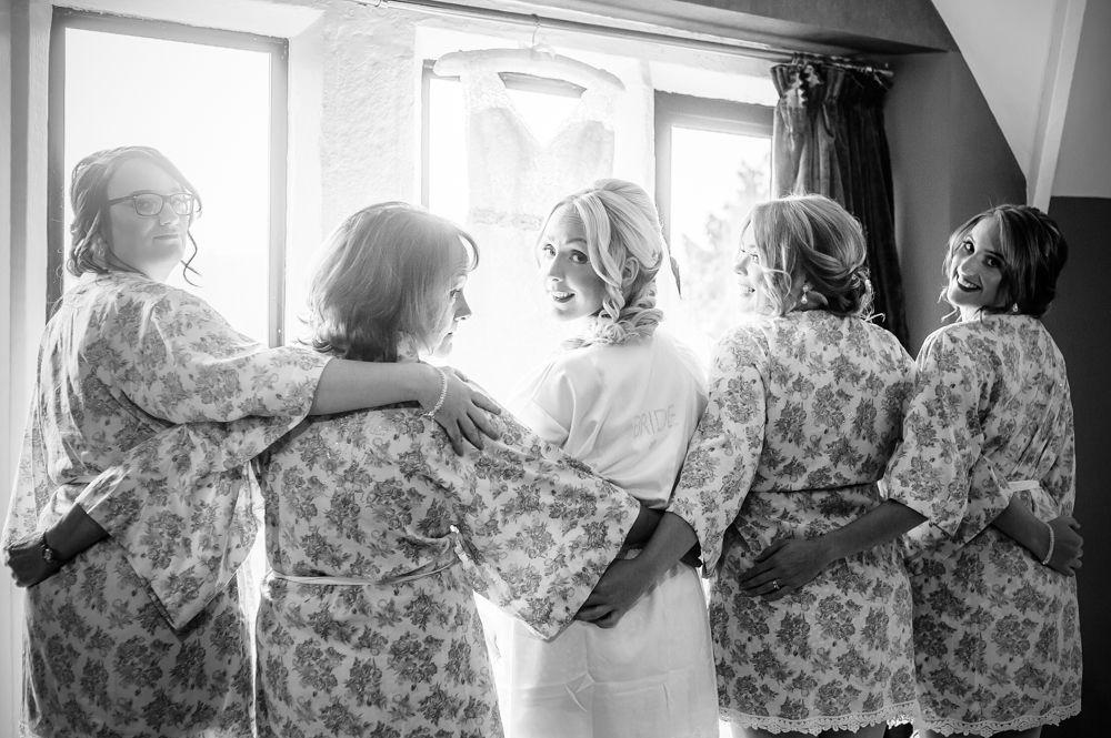 Bride squad, Maynard wedding photography Sheffield