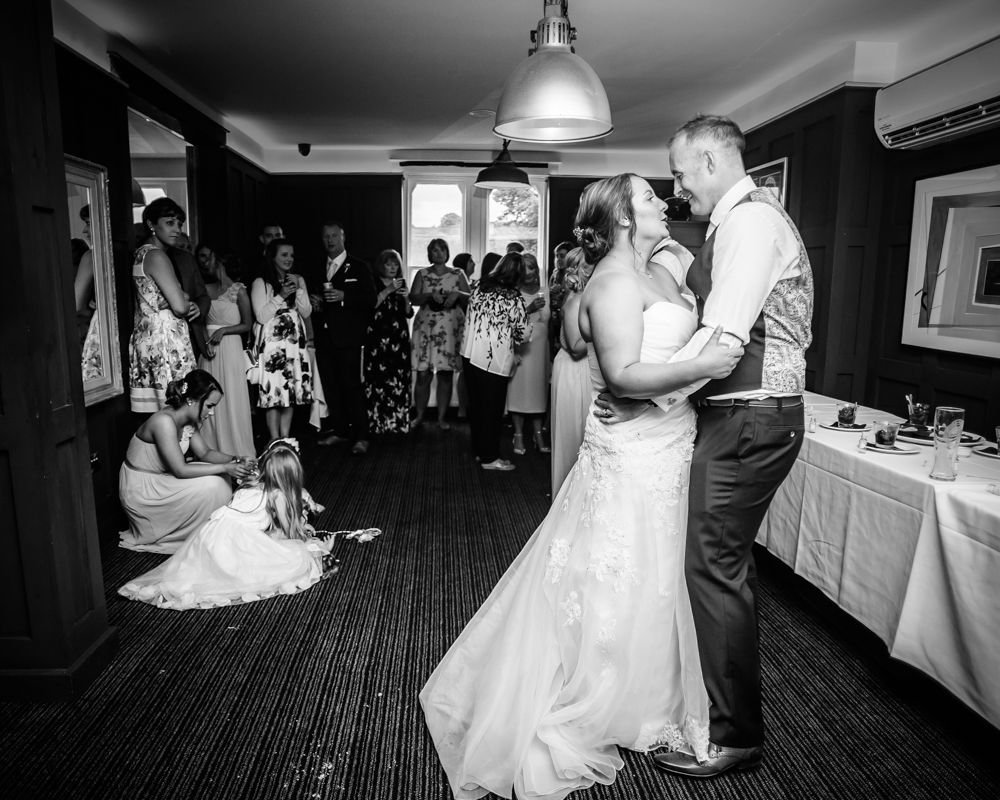 First dance in Pointing Dog, Sheffield wedding photography