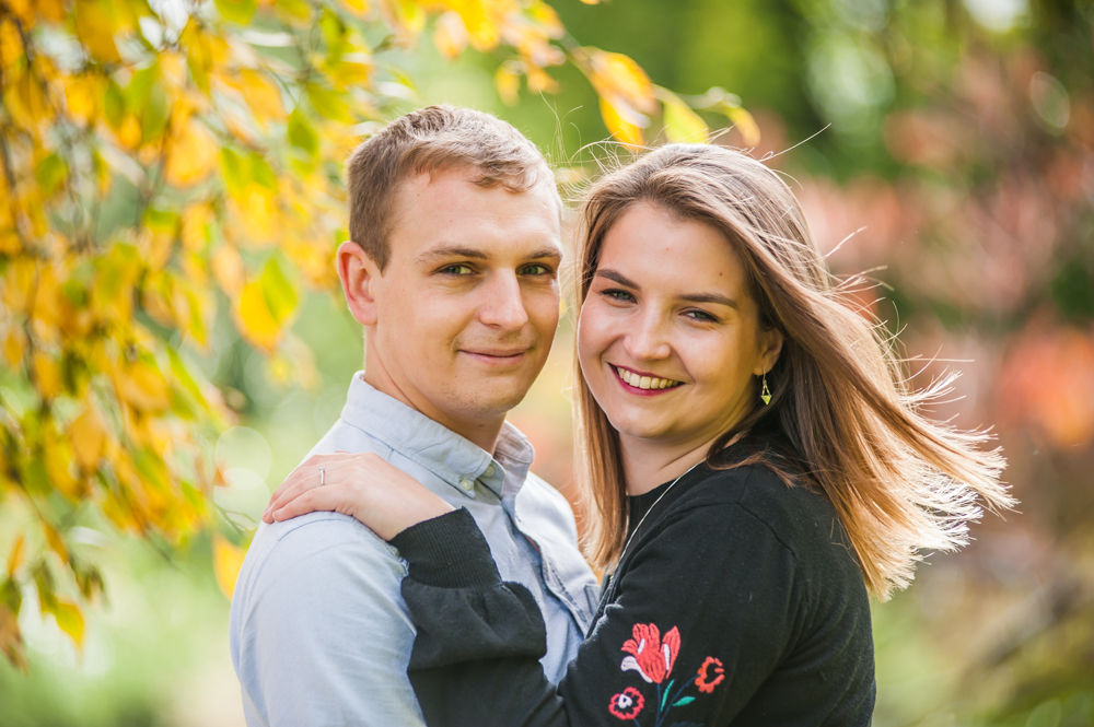 Autumn portraits in Botanical Gardens Sheffield