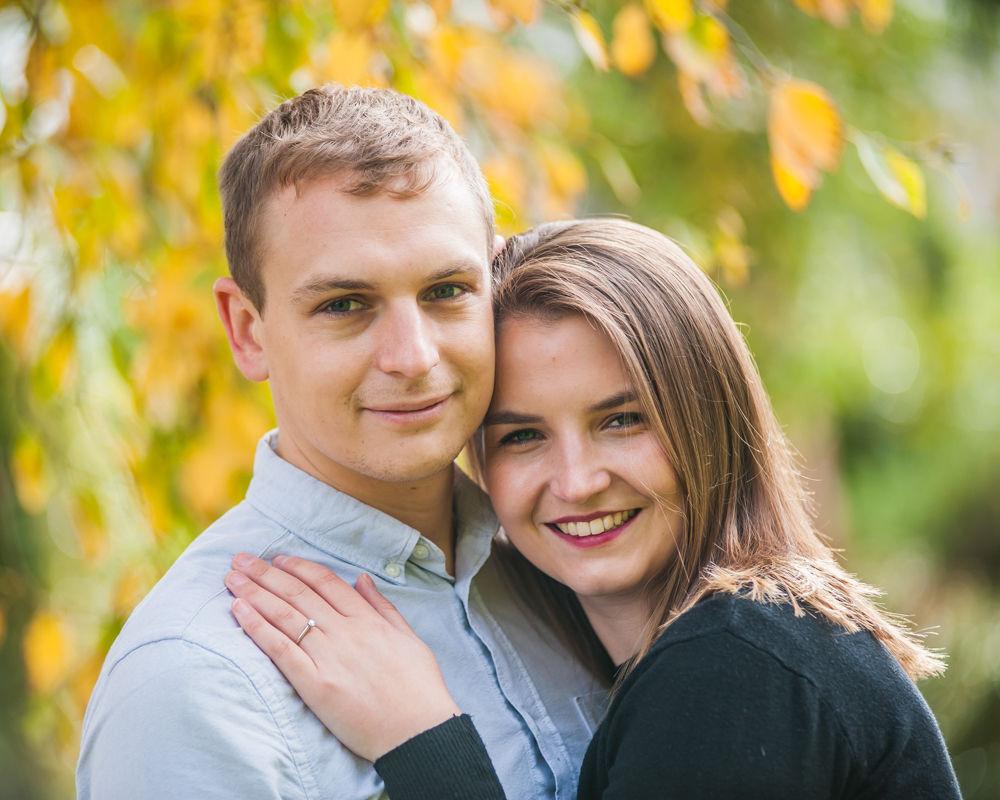 Engagement portrait, Sheffield wedding photographers