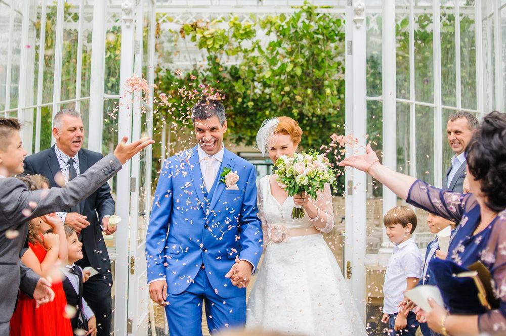Confetti, Summer wedding Sheffield
