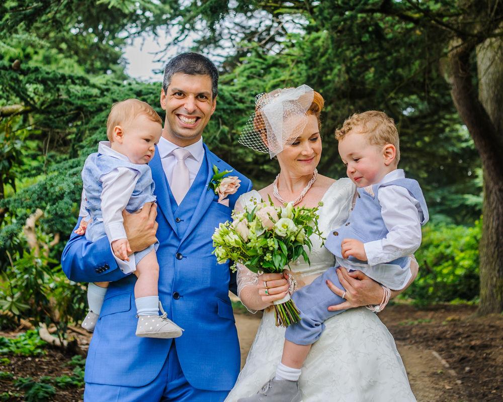Family photograph, Sheffield weddings