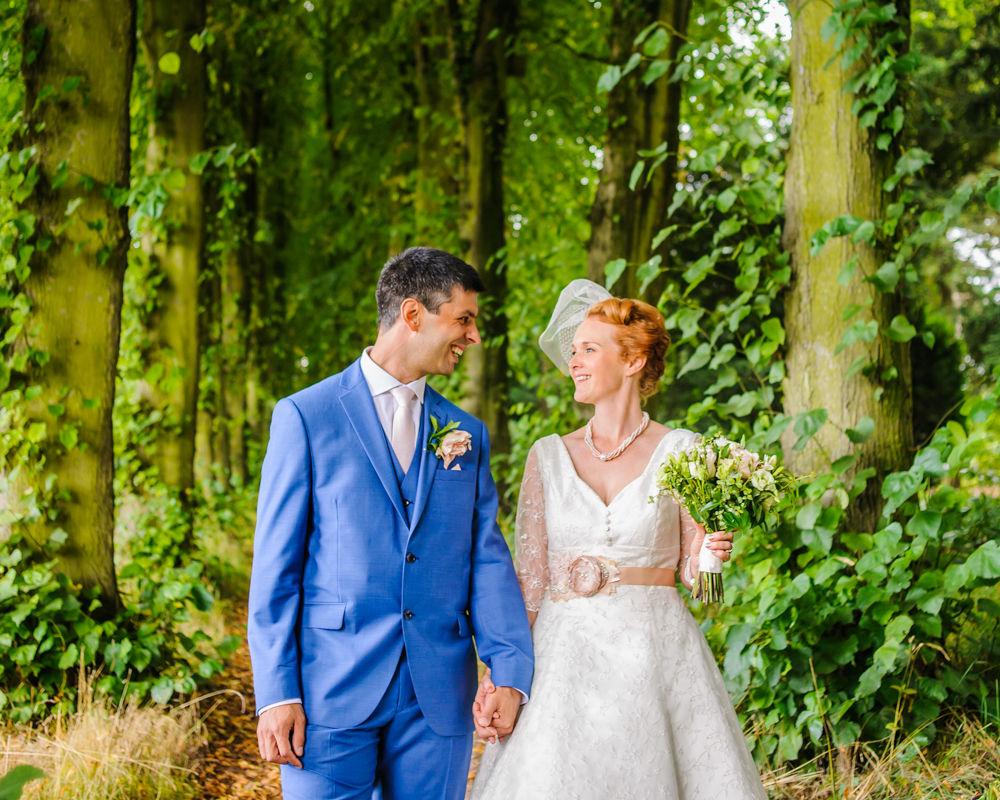 Tea length wedding dress, Sheffield wedding
