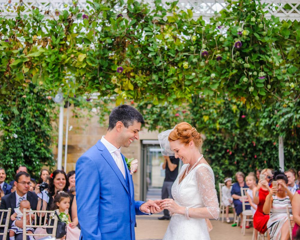 Ring exchange, Cumbria wedding photographers