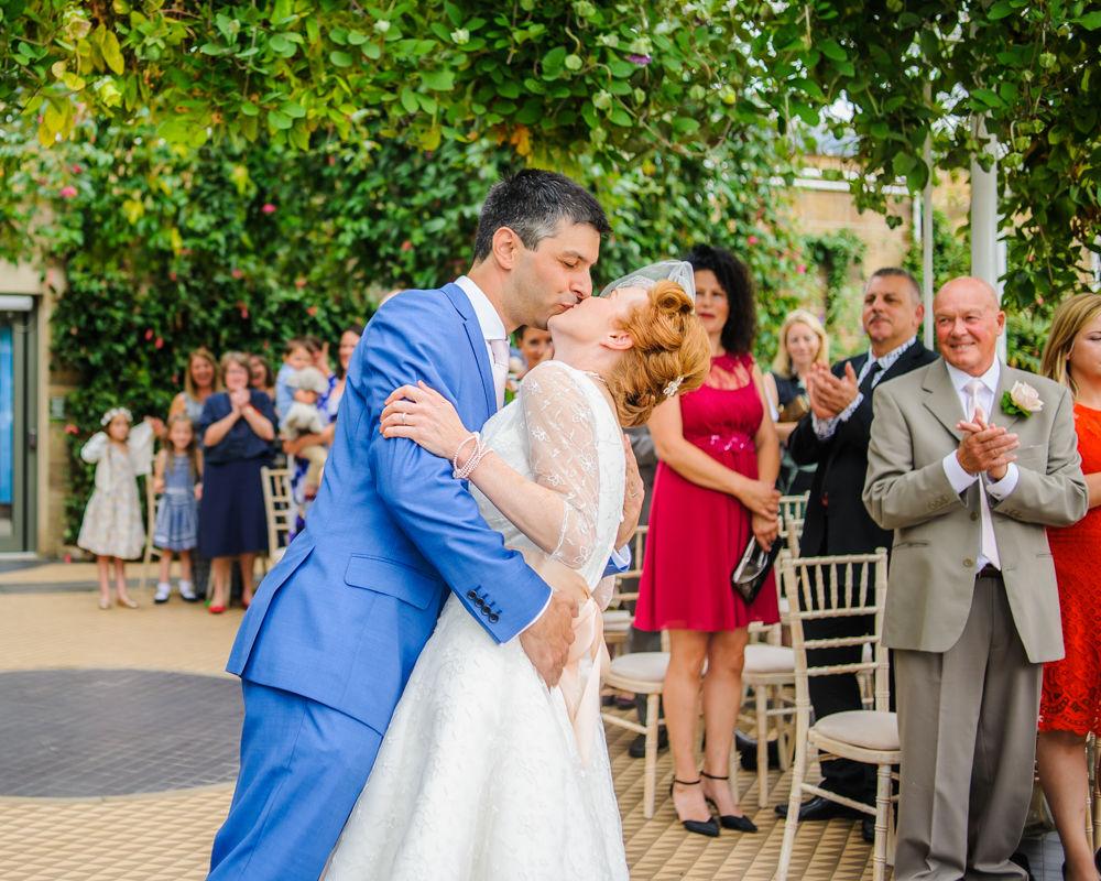 Kisses, Sheffield wedding photographer