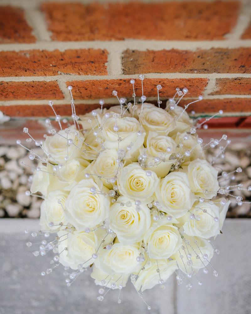 Wedding bouquet, Sheffield wedding photographers