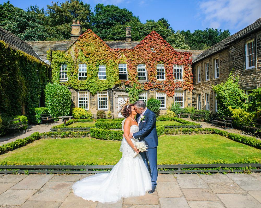 Outside Whitley Hall, Whitley Hall weddings, Sheffield wedding photographers