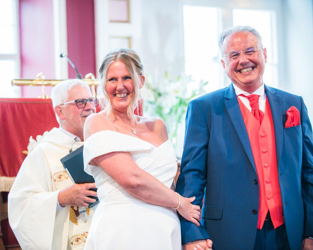 Just married feeling, Cumbria wedding photographer