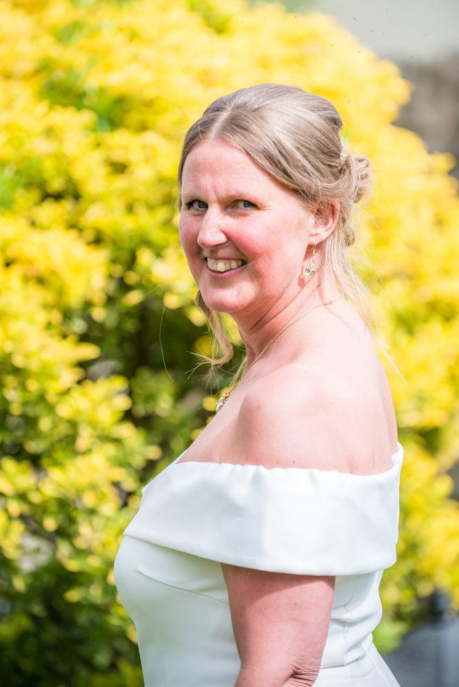 Beautiful bride portrait, Kendal weddings
