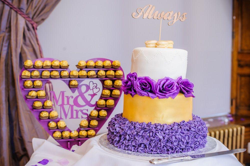 Cake and treats, Maynard wedding, Sheffield photographers