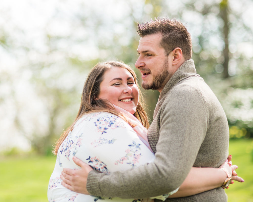 laughing with each other, Sheffield wedding photographers