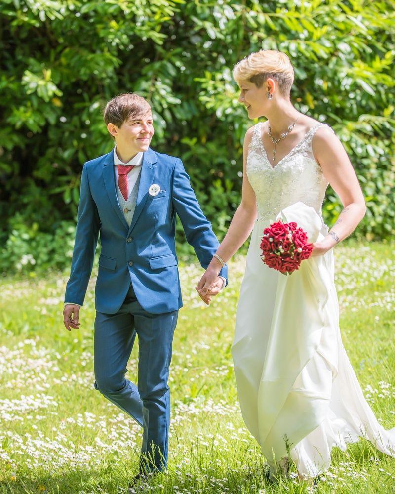 Walking in grounds of Carlisle, Carlisle Register office, Lake District wedding photography