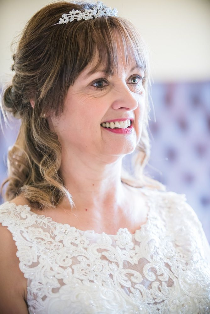Judith ready for the wedding, Merewood Country Hotel Hotel weddings, Lake District