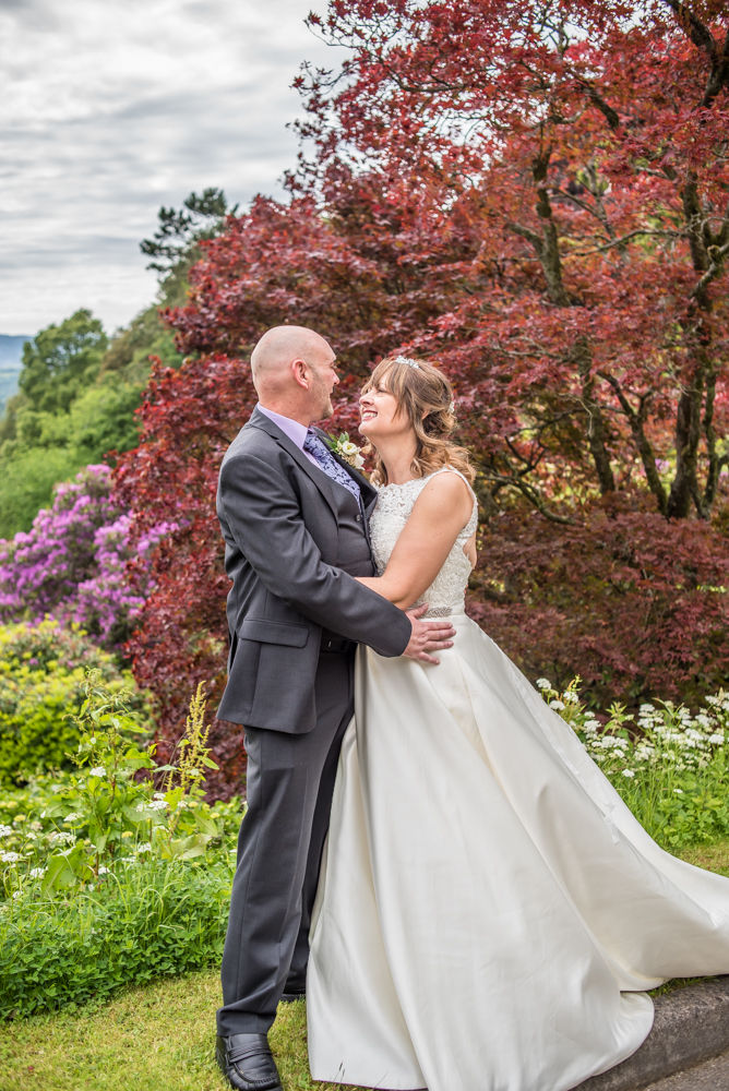 With grounds in the background, Merewood Country Hotel Hotel weddings, Lake District