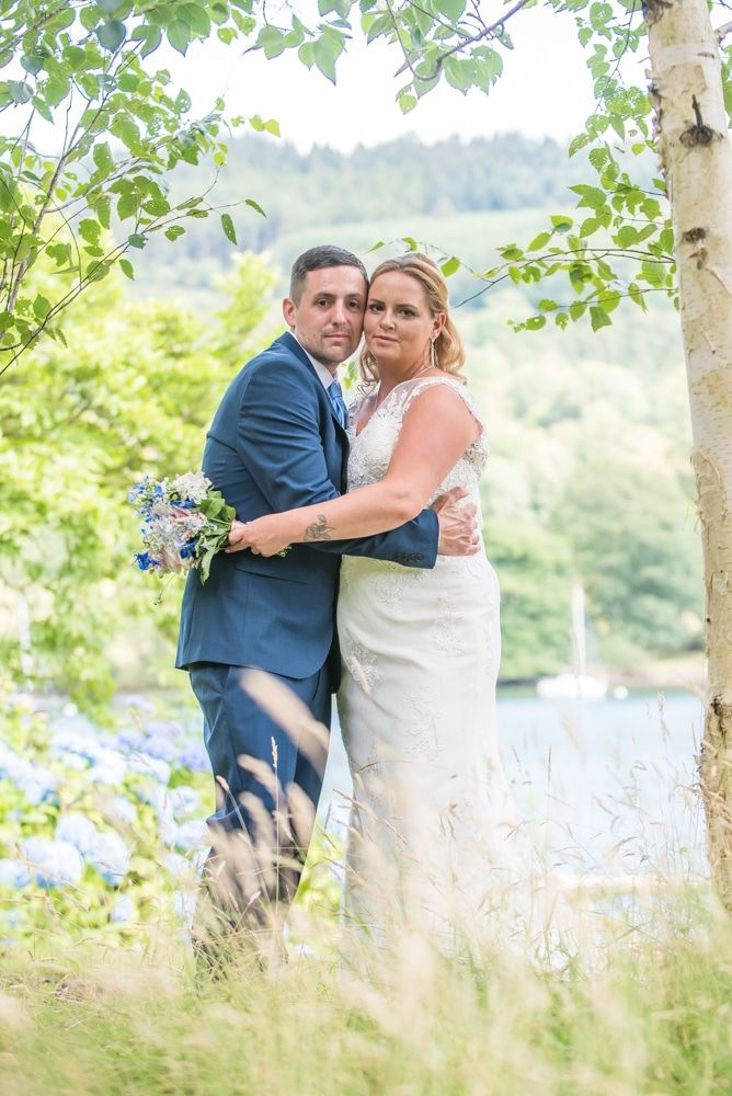 The gardens at Lakeside Hotel, Windermere weddings