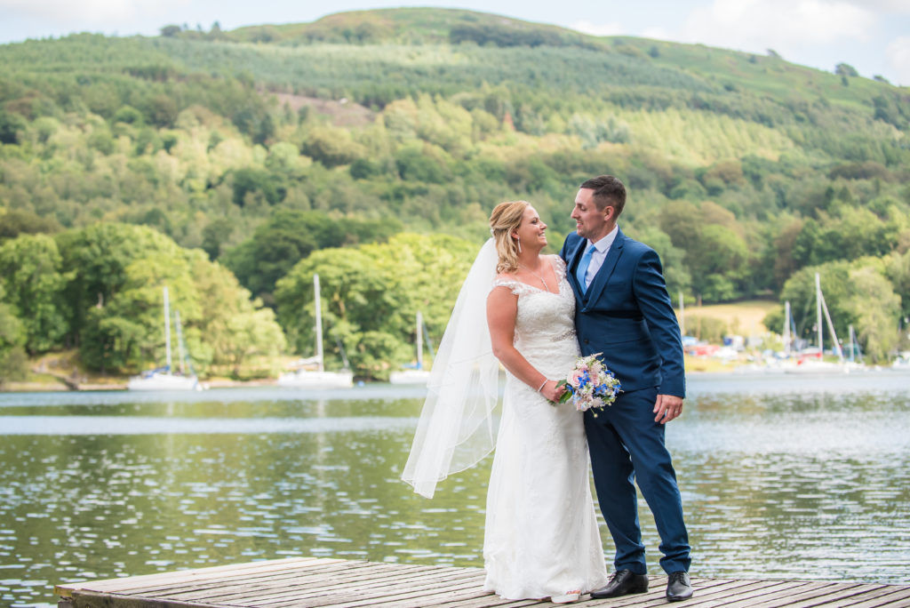 Lake district weddings, elopement to Windermere