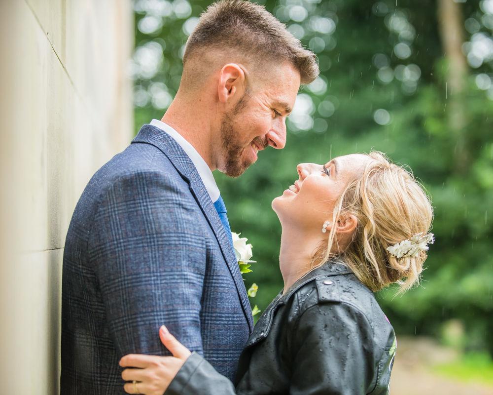 Laughing portraits,  wedding photographers Carlisle register office elopement wedding Lake District