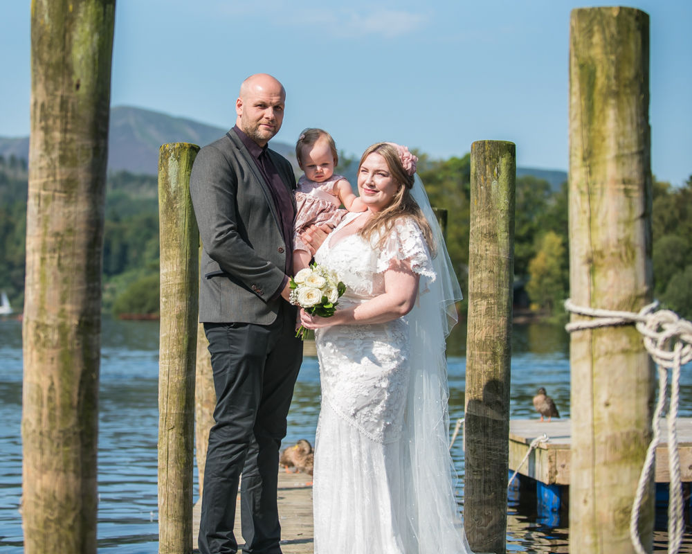 Family poses, Derwentwater Rock the Dress, Lake District wedding photographer