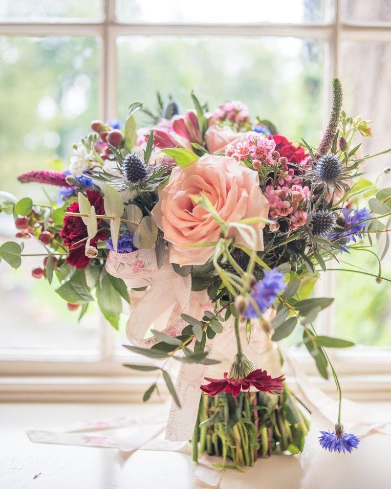 Brides bouquet, Sheffield wedding photographers, Ringwood Hall Hotel