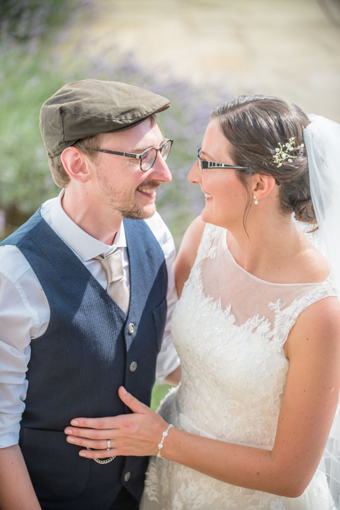 Groom in flat cap, Shireburn Arms, Lancashire wedding photographers