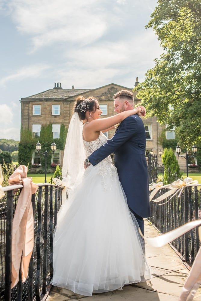 Looking into each others eyes, Waterton Park Hotel weddings, Yorkshire wedding photographers